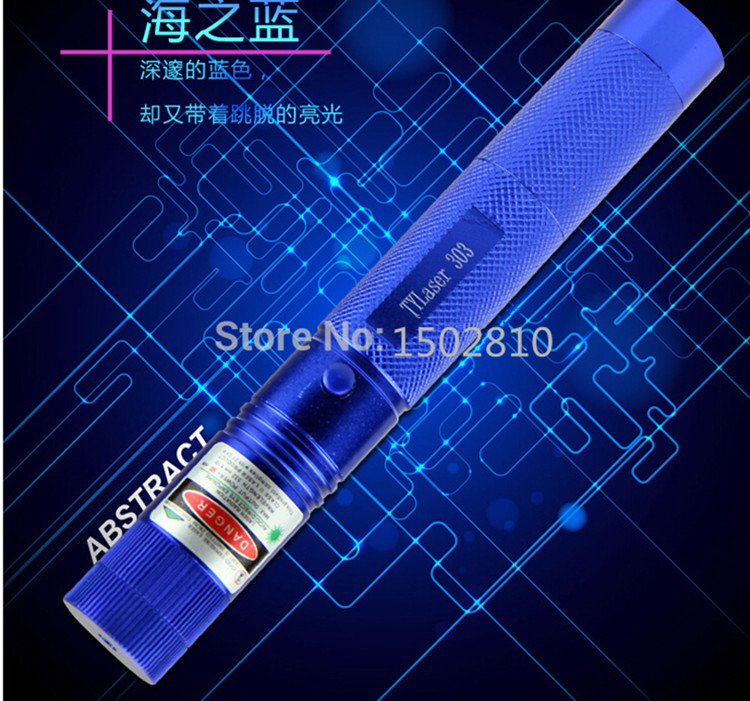 High power laser green light pointers 1000mw 532nm burning lasers 303 presenter Burn Matches & Light Cigarettes