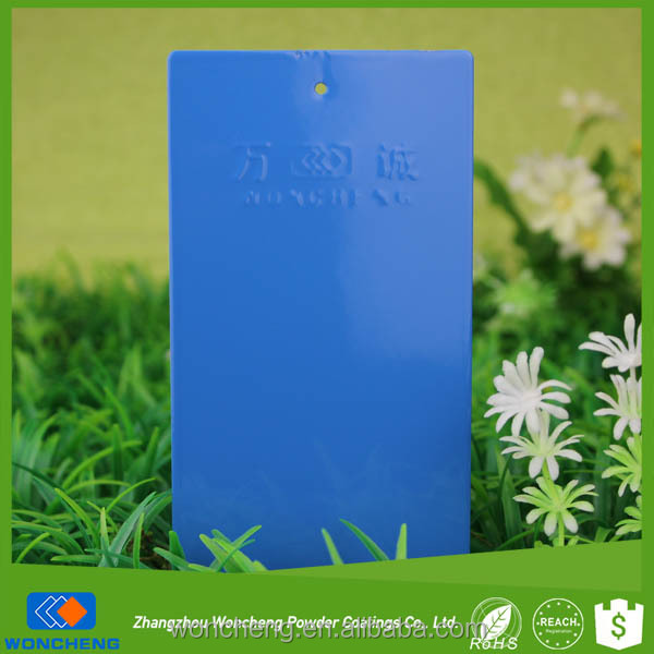 RAL 5015 Sky Blue High Flexibility Powder Coating