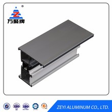 Aluminum 6063 profiles section for windows and doors