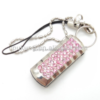 8GB-16GB USB2.0 Jewelry heart-shaped usb flash drive for gift