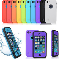 Durable Waterproof Shockproof Dirt Snow Proof Case For iPhone 5 5s