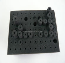 Activated carbon roll filter high acoustical egg sponge pu foam sheet