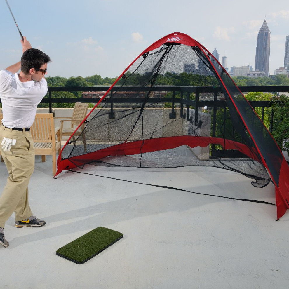 Golf Practice Training Driving Hitting Net Golf Training Cage