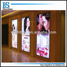 plastic led advertising display frames for pictures