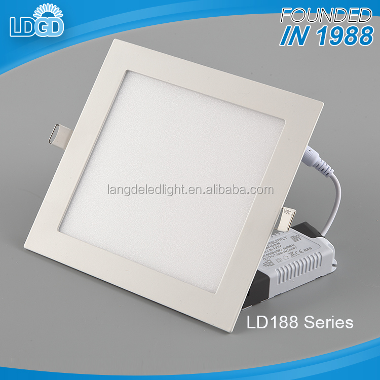 zhongshan factory 15W square ultra slim led panel light flat ceiling panel light with cheap price