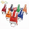 Super supermarket lightweight foldable shopping trolley bag