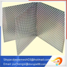 durable stainless steel perforated steel sheet metal building screen for decoration