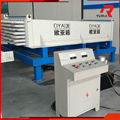 horizontal type light weight concrete wall panels production line hollow core wall board making machine