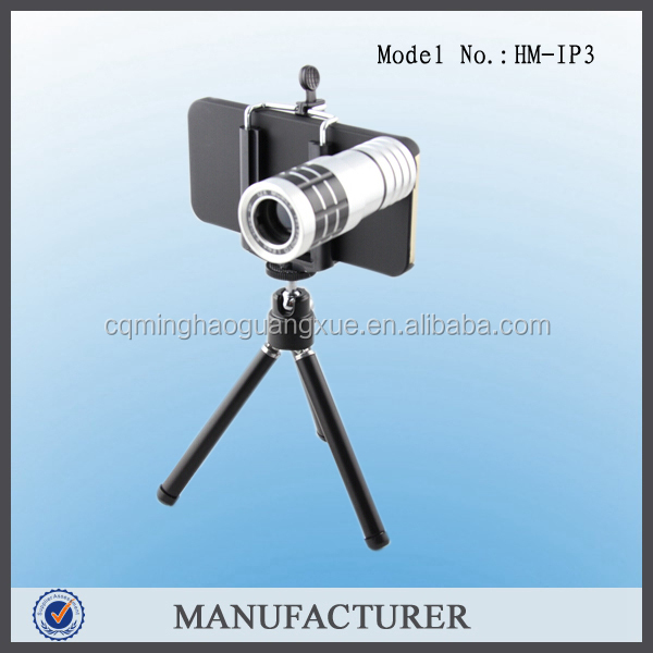 IP3 china wholesale zoom telescope for mobile phone iphone camera lens