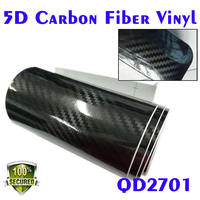 car wrapping foil Derek 5d carbon with air free channel two size avaliable