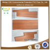Waterproof Wood Looking Vinyl PVC Flooring Tile With UV Coating