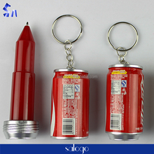 Coca-Cola modelling mini plastic pen with high quality for sale
