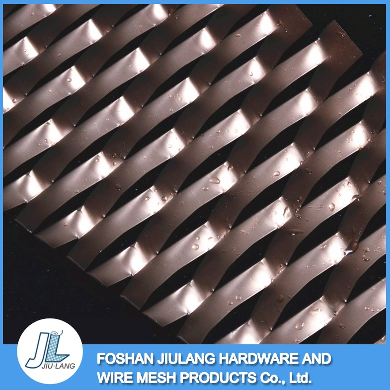 corrosion prevention high security aluminum expanded metal <strong>mesh</strong> for decoration