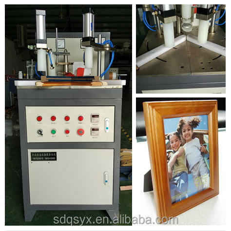 High frequency Photo album MDF board frames corner joint machine