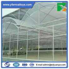 Insulated Tempered Double Arch Double Plastic Film Agricultural Greenhouses
