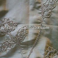 Elegant Home Textile Handmade 100% Polyester Embroidery Fabric