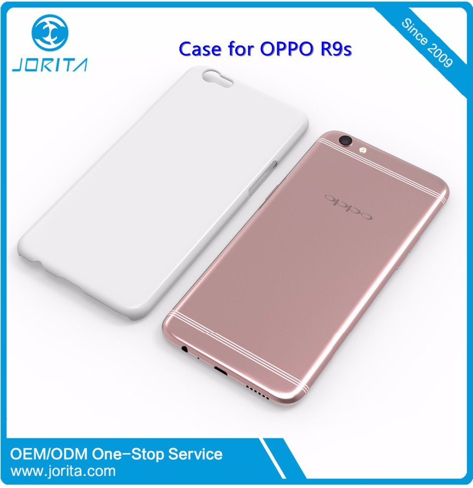 2016 new design rubber coating surface PC hard protective mobile phone case for OPPO R9s