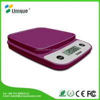5kg mini manual digital plastic fruit vegetable electronic kitchen food weighing scale for sale