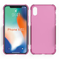 alpha design air cushion shockproof cell phone case for Iphone X soft cover
