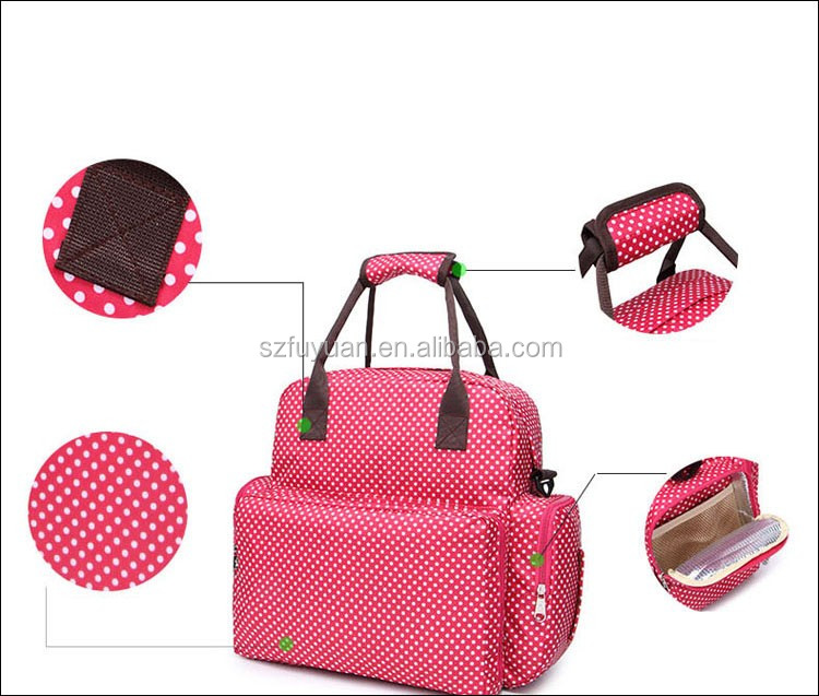 2017 New design baby diaper bag, diaper bag backpack manufacturer