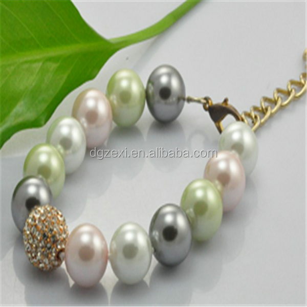 2015 Fancy Pearl Bracelet For Gift.png