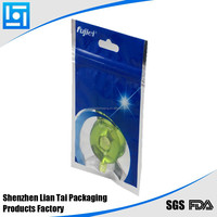 memory card plastic packaging bag with clear window