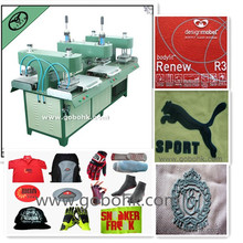 silicone garment label/logo/trademark making machine