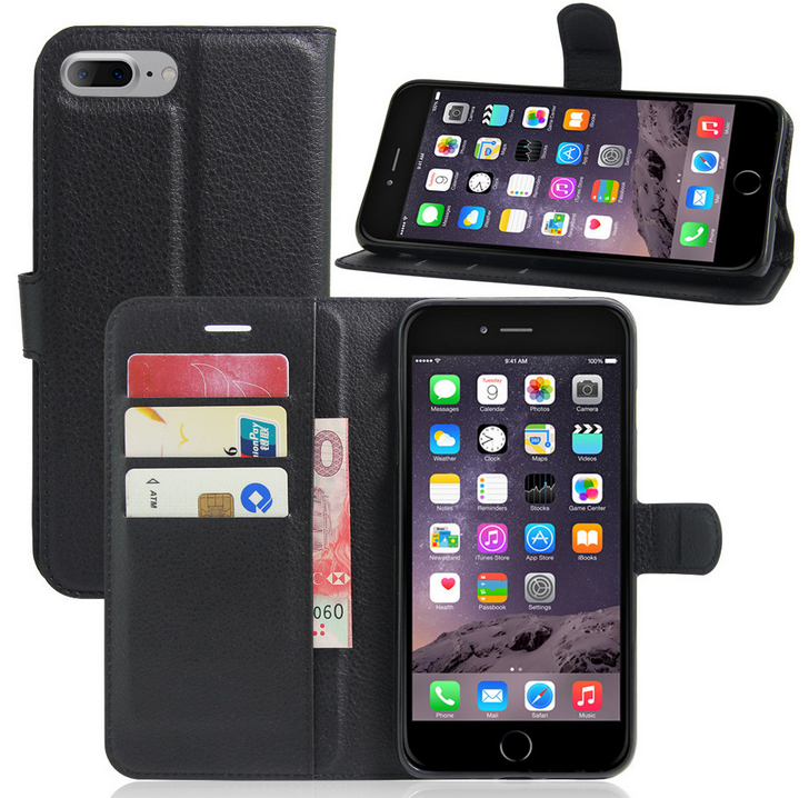 Ultra Slim Leather Wallet For iPhone 6 6s Plus case