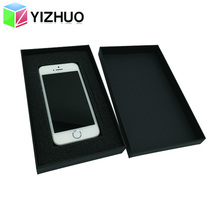 China Manufacturer Super Quality Black <strong>Mobile</strong> Phone Case Paper Packaging Box With <strong>Oem</strong>
