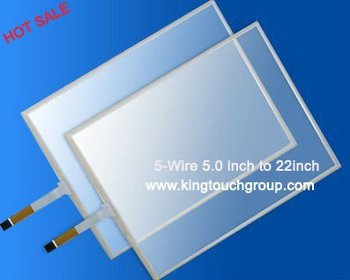 "19"" 5 Wire Resistive Touch panel (4:3) with usb or rs232"