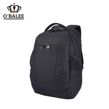 2017 factory custom outdoor black ripstop 3 compartment laptop bag backpack 17.3 strape for men