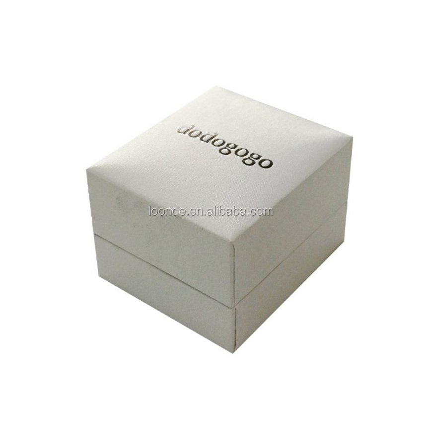 Professional factory supply luxury cardboard ring display box