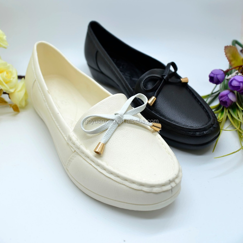 PVC Footwear Women Plastic Sandals Women Flat Shoes