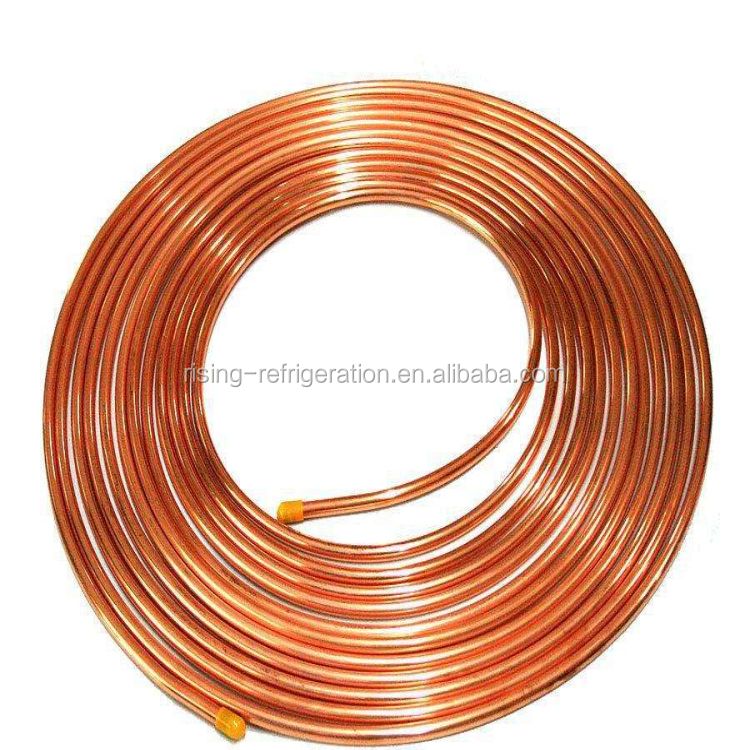 air conditioner spare part copper coil pipe/copper tube/pancake coils
