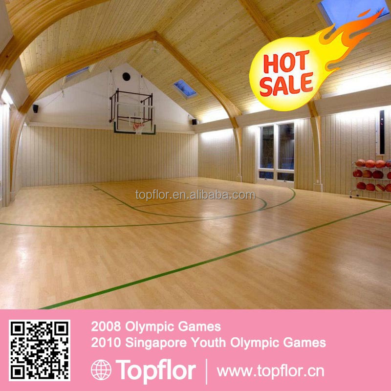 Topflor Pre-Line Indoor used basketball court floor for sale