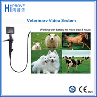 portable veterinary video endoscope with battery USB type vet video flexible endoscope