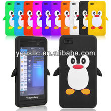 PENGUIN SILICONE SKIN MOBILE PHONE CASE COVER FOR Blackberry Z10
