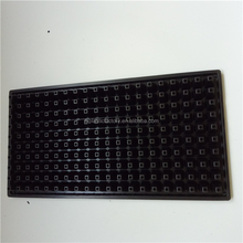 200 Cell Plastic Plant Plug Seed Starting Grow Germination Tray for Greenhouse Vegetables Nursery Propagation