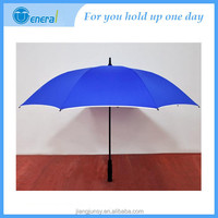 High quanlity button in handle fashion straight umbrella manufactuer