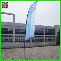 Outdoor Advertising Sand Beach Flag