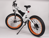 High power fat tire electric bike chopper electric bike