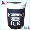 inflatable beer ice bucket, inflatable pool floating ice cooler beer can holder