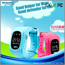 Q50 Kids Smart Watch GPS with GPS Tracking and SOS Key and SIM Support Android & iOS Mobile Phone