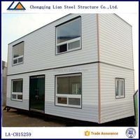 Luxury portable container house prefabricated