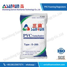 PVC foaming modifier Sanrun chemical auxiliary agent S-200 for board and profile product best price