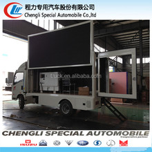new type tv led advertisement truck video display move truck for proper price