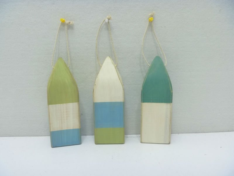 7.5''H wood floating buoys