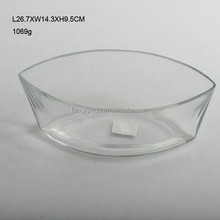 SHIP SHAPED PARTICULAR DESIGN BEST SELLING GLASS BOWLS