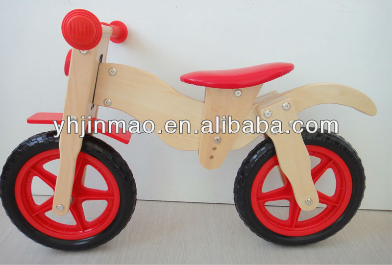 2015newest wooden balance bike motor bike