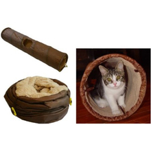 Playful Cat Agility Tunnel Cat Accessory Products Cat Toy Tunnel Collapsible